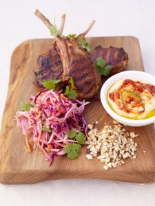 Jamie Oliver recipes - Grilled Moroccan Lamb Chops