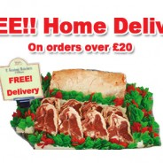 NEW!  FREE Home Delivery Service