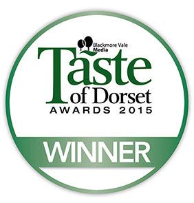 Winner! Taste of Dorset, Best Butcher 2015
